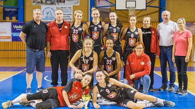 Sokol Hradec Králové, druhý celek basketbalového turnaje O pohár města Trutnova 2018.