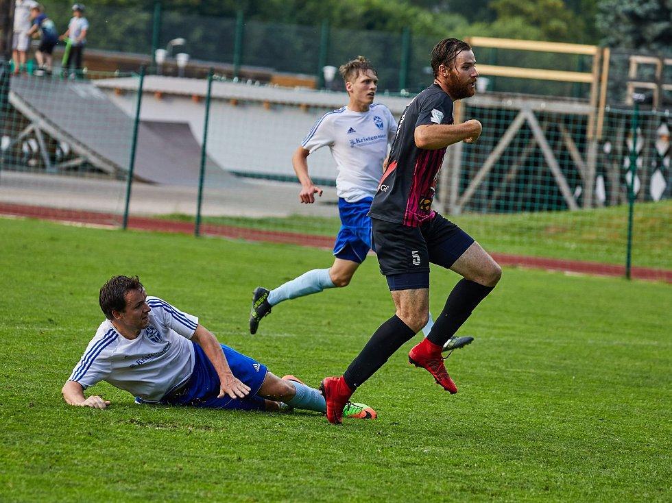 Fotbalová Fortuna Divize C: Trutnov - Čáslav.