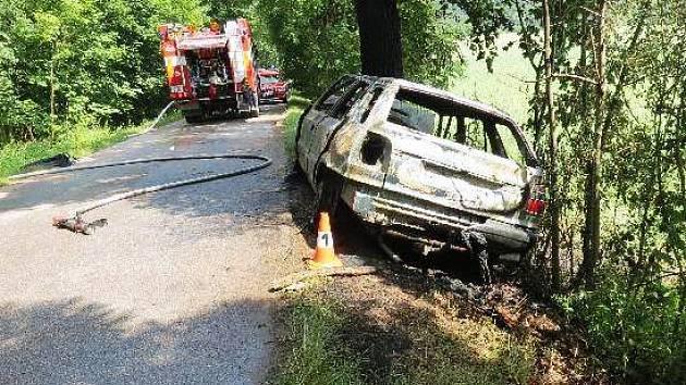 Nehoda nedaleko Vlčic u Trutnova