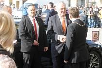 Prezident Miloš Zeman v Lomnici nad Popelkou