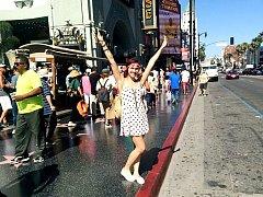 Kamila Nývltová v Los Angeles