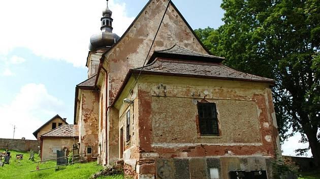 Kostel svaté Anny ve Starých Bukách