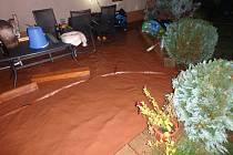 Voda způsobila potíže především na Trutnovsku a Královédvorsku