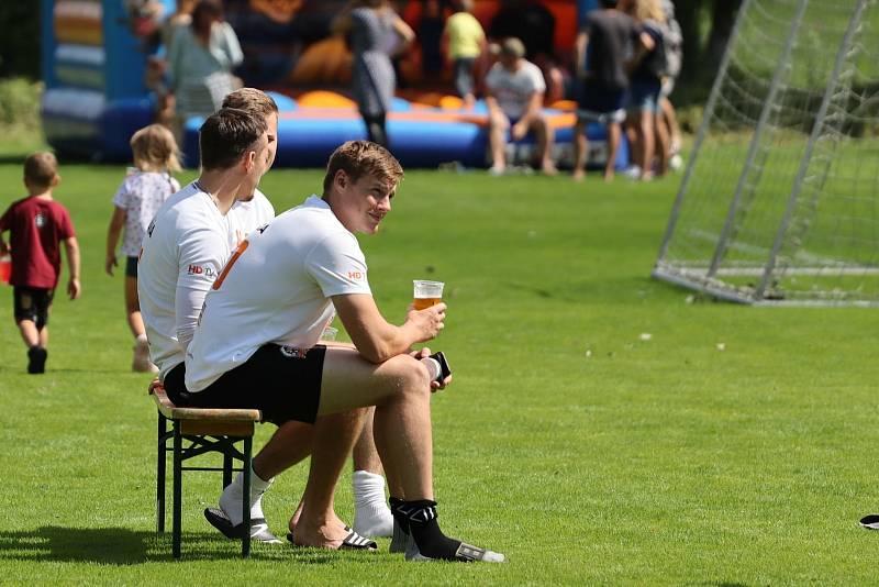 Fotbalový turnaj v Bílé Třemešné se znovu po roce vydařil.