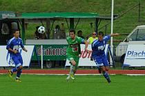 V pohárovém utkání podlehli fotbalisté Dvora prvoligovému Jablonci.