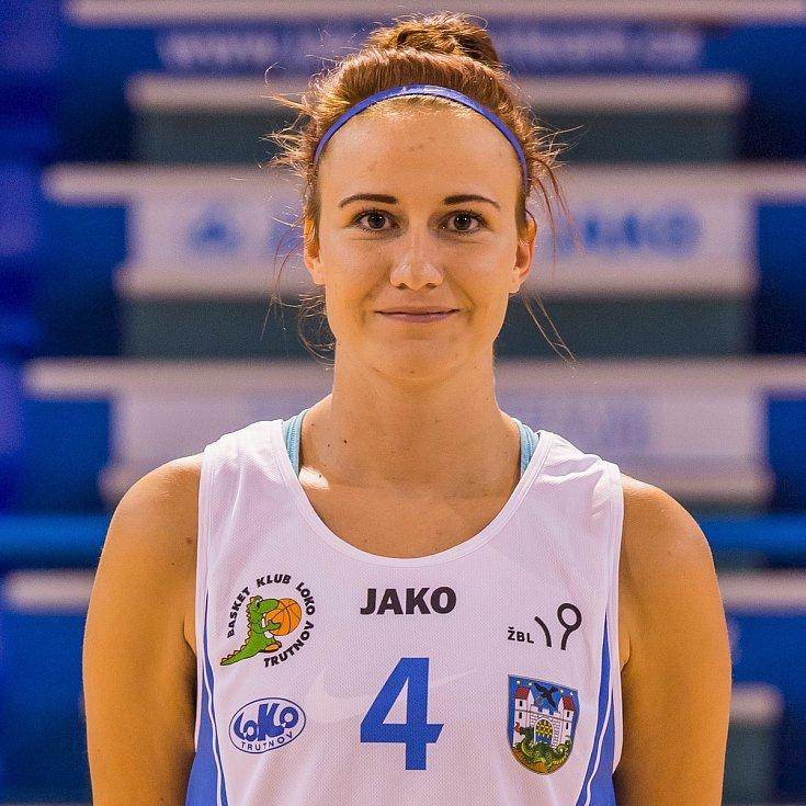 Michaela Potočková, dvaadvacetiletá hráčka Lokomotivy Trutnov.