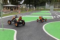Nové dopravní hřiště vzniklo v areálu Střediska volného času v Trutnově Na Nivách.
