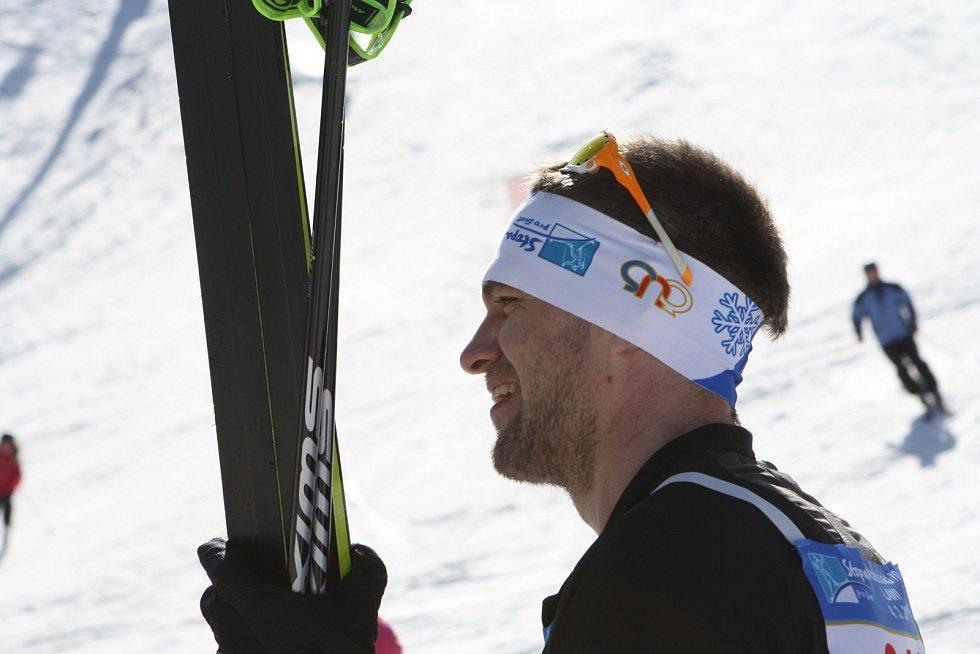 Loni se objevil mezi účastníky také skifař Ondřej Synek.