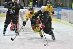 Dvorští hokejisté na domácím ledě přehráli poslední Bílinu těsně 3:2.