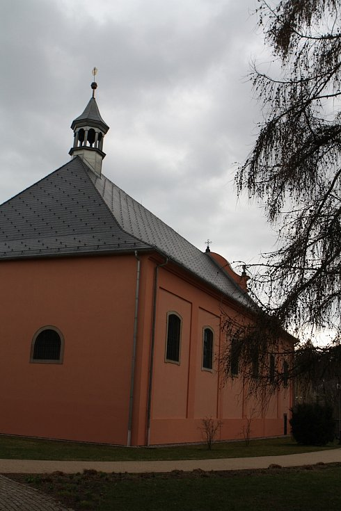 Současná podoba klášterního kostela.