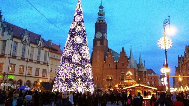 Vánoční trhy v Polsku