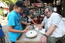 Den lidových řemesel v Žacléři, červenec 2012