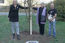 Pro Olgu Havlovou roste další strom.