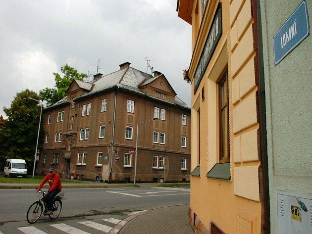 Ulice Lomní Trutnov