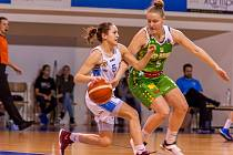 Trutnovská rozehrávačka Aneta Váchová si připsala ve středečním pohárovém utkání 5 bodů.
