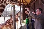 Izraelský velvyslanec Daniel Meron v zoo