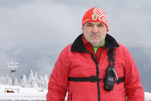Náčelník Horské služby Krkonoše Pavel Jirsa.