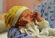 Malý Jakub se narodil v jilemnické porodnici a stal se prvním chlapečkem, který přišel na svět v roce 2019 v Libereckém kraji.