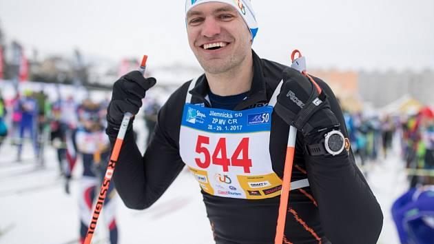 Jilemnickou 50 si nenechá ujít ani přední český sportovec, skifař Ondřej Synek