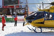 Nehoda snowboardisty ve Špindlu
