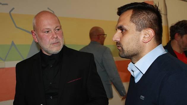 Nové žacléřské vedení. Starostou se stal Aleš Vaníček (vlevo), místostarostou Valentin Herman.