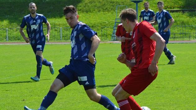 Derby Dvora Králové nad Labem s Trutnovem přineslo pouze dva góly.
