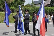 Jubileum slavila obec i sbor dobrovolných hasičů.