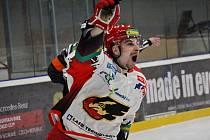 Hokejisté Prostějova si ve 27. kole Chance ligy vyšlápli na lídra soutěže z Vrchlabí.