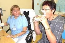 Plíce si zájemci nechali vyšetřit, kuřáci však nepřišli