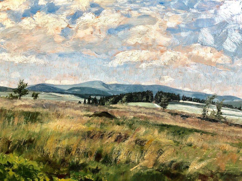Slavný obraz Františka Kavána míří k restaurátorům do Prahy.