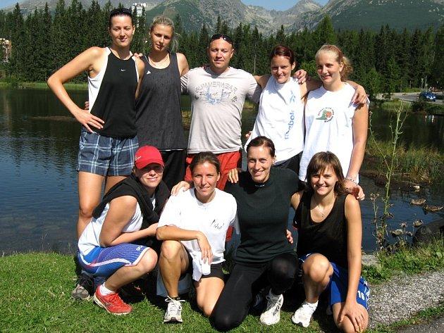Soustředění trutnovských basketbalistek na Slovensku