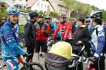 Zahájení cykloturistické sezony v mikroregionu Žacléřsko