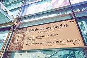 Z vernisáže výstavy Studna od Martina Böhma.