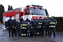 Předání hasičské tatry