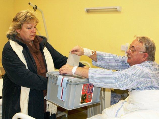 Volby v trutnovské nemocnici