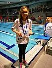 TEREZIE BISCHOFOVÁ bude na mladoboleslavský bazén vzpomínat ráda. Takřka ve všech závodech vylepšila osobní rekord.