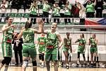 Basketbalistky trutnovské Lokomotivy po přestávce upustily od své hry a favorita pustily k suverénní výhře rozdílem bezmála čtyřiceti bodů.