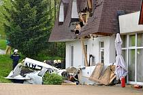 Nehoda letadla v Lánově