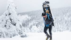 Zimní Sněžka Sherpa Cup na nejvyšší českou horu v extrémních podmínkách