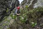 Pracovníci Správy KRNAP a geologové z České geologické služby zkoumali za použití horolezecké techniky jedno z posledních málo známých míst v Krkonoších. Obtížně přístupná skalnatá rokle na úbočí Studniční hory je známá jako Čertova zahrádka.
