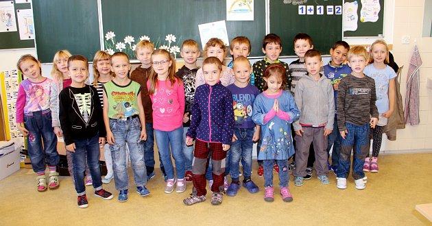 Žáci 1.B ze ZŠ 5.května Dvůr Králové