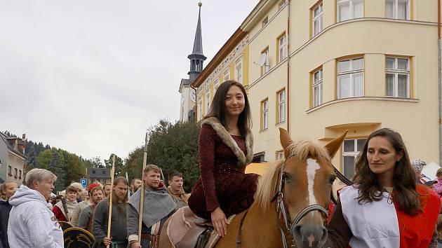 Ve Svobodě nad Úpou se konaly Rudolfovy slavnosti.