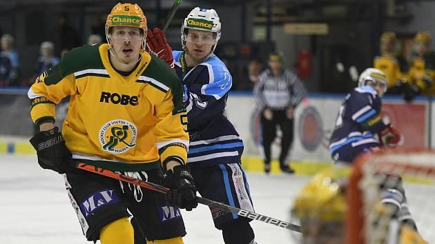 Nikdy se nevzdáme. Vrchlabští hokejisté vzkázali svým fanouškům, že Vsetínu zadarmo postup nedají.