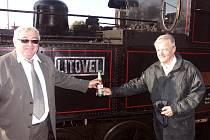 Oslavili výročí klubu a také sto let provozu parní lokomotivy