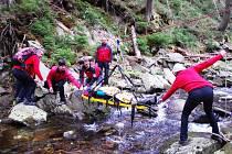 Letní cvičení dobrovolných členů Horské služby