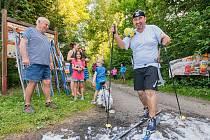 V Havlovicích se konal 10. ročník závodu Letní běh na běžkách.
