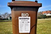 Začíná třídění bioodpadu, kontejnery jdou do ulic.