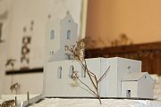 Občané Rudníku vybírali způsob řešení obnovy evangelického kostela v Bolkově z šesti semestrálních prací vysokoškoláků Technické univerzity Liberec.