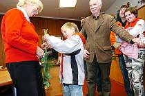 NÁVŠTĚVU Z PARTNERSKÉ SENICE přijala na radnici také místostarostka Trutnova Hana Horynová.