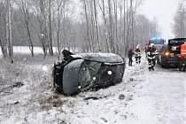 Nehoda ve Chvalči